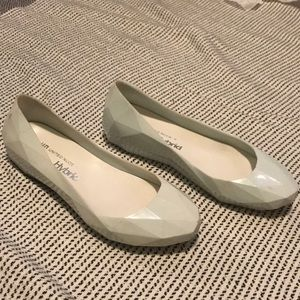 United Nude Hybrid Jelly Faceted Flats
